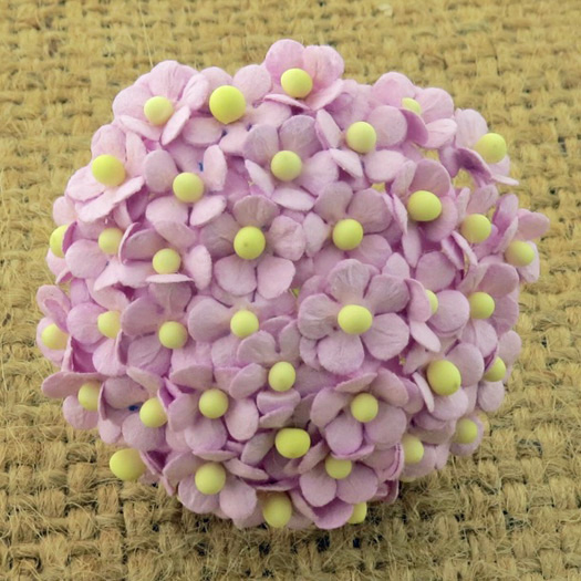 100 MINIATURE LILAC SWEETHEART BLOSSOM FLOWERS