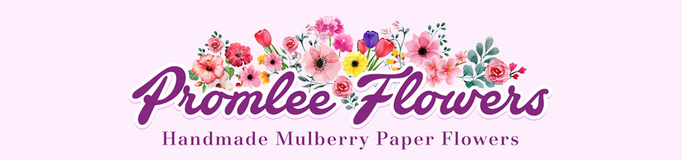 Promlee Flowers - Mulberry Paper Flowers